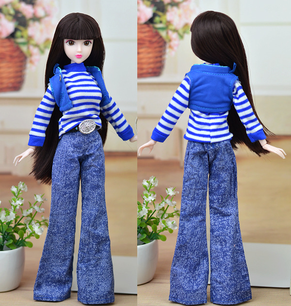 11 styles for choose Top coat trousers pant hat scarf shoes bag accessories for Barbie 1:6 Xinyi doll BBI00580