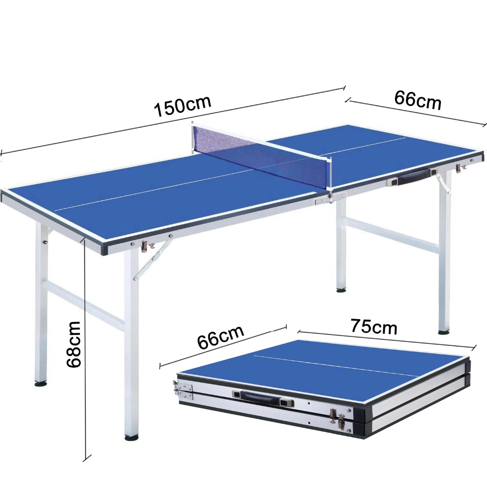 Профессиональный мини-Портативный складные столы для настольного тенниса для родителя-ребенка студента взрослая спортивная игра в помещениях 150(Д)* 66 мм(Ш)* 68(H) см 18 кг