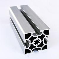 6060 EB Aluminum Profile Extrusion 60 Series Aluminum Tube Length 1 Meter