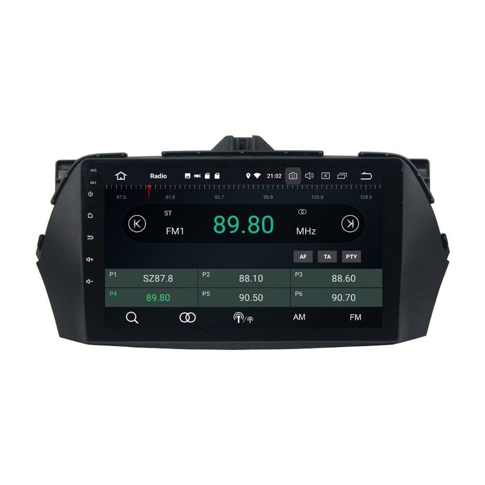 9 Android 8 0 Octa Core Car Radio font b Multimedia b font GPS Navigation for