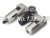 1 шт. SMC Тип 1 BSPT воздушный фильтр Регулятор масленка 5000 л/мин Автоматический дренаж