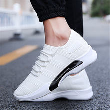 Brand Men Sneakers New Men Casual Shoes Breathable Mesh Men Sheos Slip-On Fashion Sneakers Male Shoes Adult Sapatos Trend Shoes