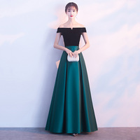 New Arrival Short Sleeve Off Should Maxi Women Dress For Formal Occasion