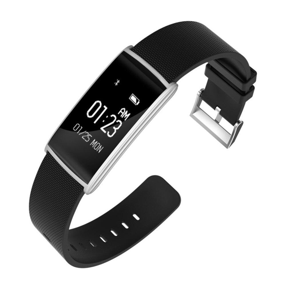 N108 Smart Bracelet moniteur de fréquence cardiaque Sang Pression IP67 Étanche bracelet connecté montre bluetooth PK Mi bande 2 P40