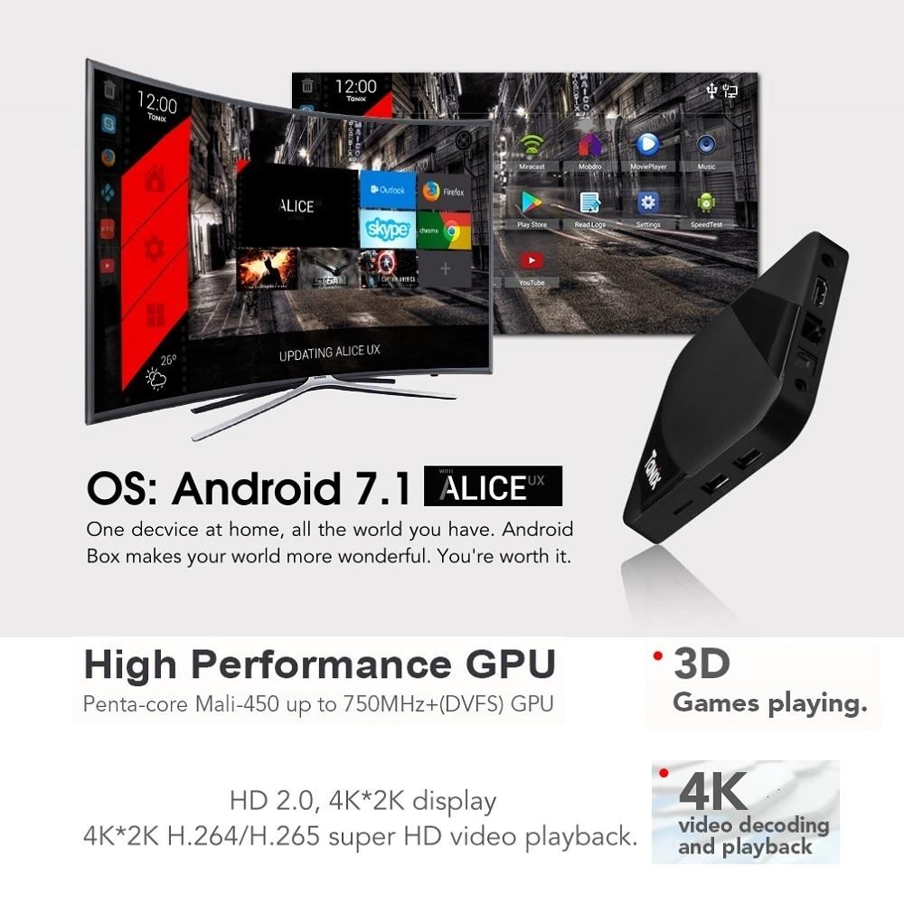 VONTAR Tanix TX3 MAX Smart TV BOX Android 7.1 2 GB 16 GB BT4.1 Amlogic S905W Quad Core H.265 4 K 2.4 GHz WiFi TV Player - 3