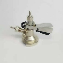 A type keg coupler,keg head with pressure relief ,brass body ,stainless steel probe,5/8G