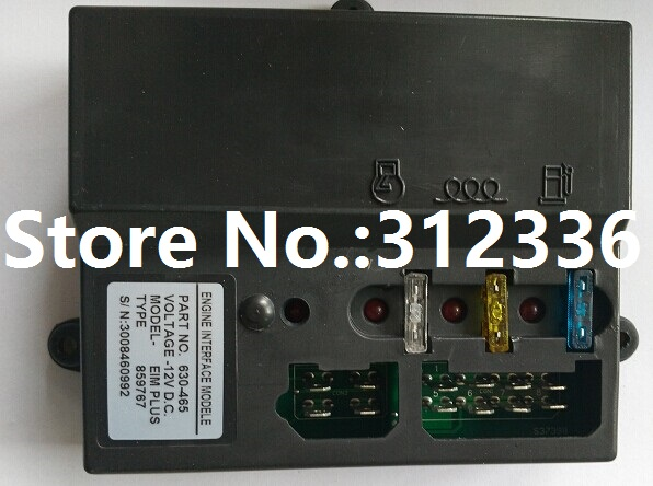 Free shipping 12V 630-465 EIM630-465 EIM PLUS Engine interface module Engine generator controller suit for any diesel generator free shipping dse7310 generator controller auto start control module suit for any diesel generator