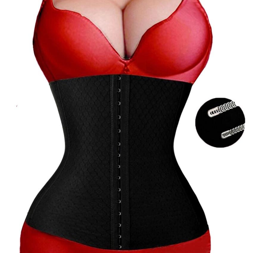 Female Steel Boned Bustier Corset Sexy Corselet Body Waist Trainer Big Size Espartilhos Women Belly Slimming Sheath M-3XL