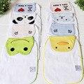 2Pcs Baby Suction Hanjin Children Cotton Gauze Towel Compartment Hanjin Cartoon Baby Infant Supplies