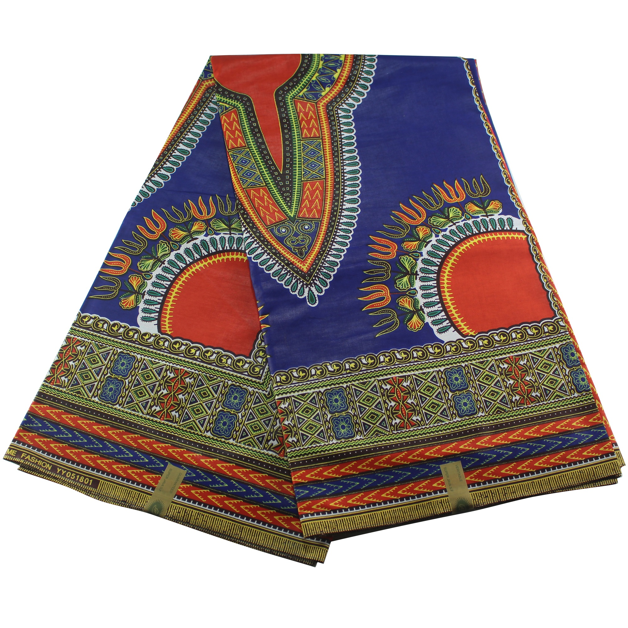 New Dashiki Thick African Wax Colorful Ankara Fabric Material 100% Cotton For Clothing Sewing