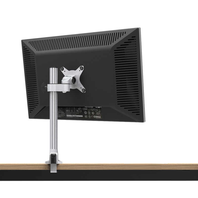 "13""-27"" Monitor Holder Aluminum Alloy Free Lifting Full Rotation LCD LED TV Desktop Monitor Mount Support Loading 10kgs"