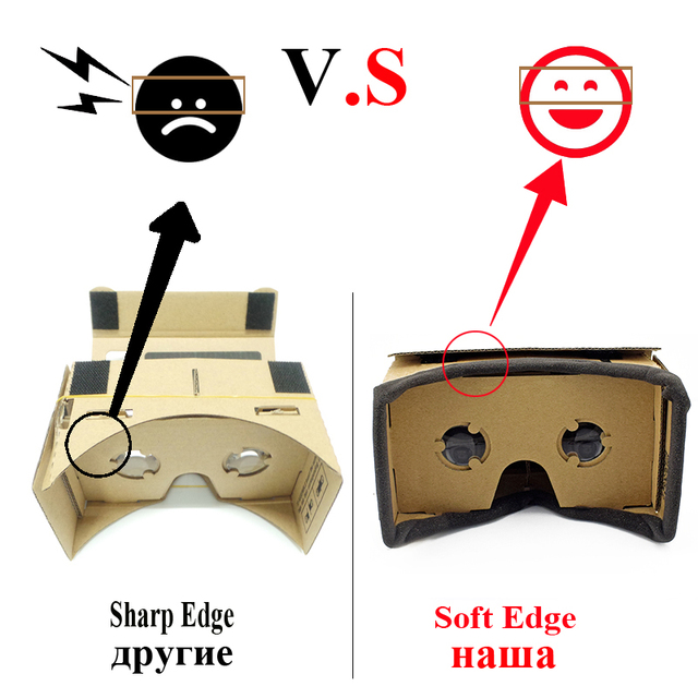 3D Virtual Reality Glasses | Cardboard 1