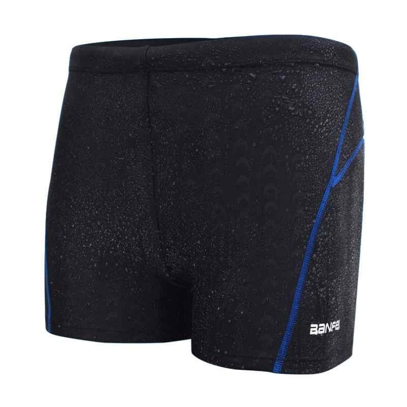 2019 Bader Zwembad Badmode Arena Zwembroek Sunga Mannen Haai Huid Plus Size Swim Zwemmen Sport Surf Pak Shorts Badpak Strand dragen