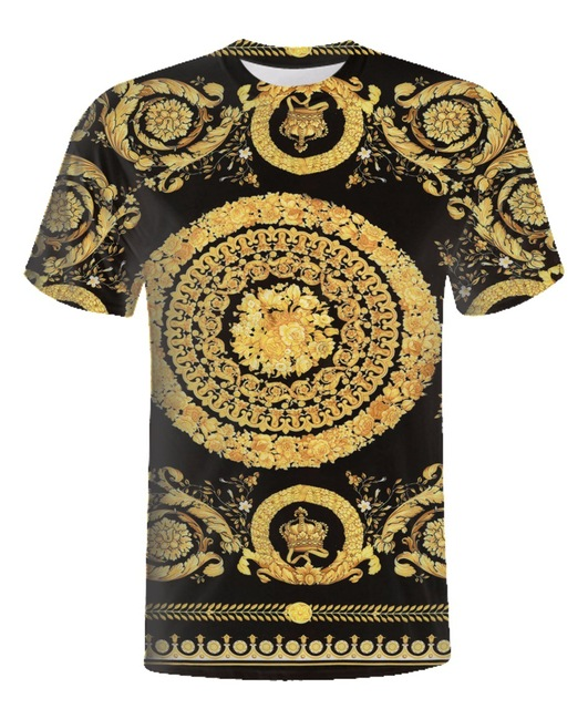 950b291dafc Vintage T Shirt Men Women Baroque Shirt Mens Striped Tee shirts Homme Brand  Clothing Hip Hop harajuku Tshirt Funny Plus Size 7XL