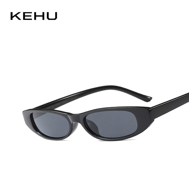 KEHU Ladies Trend Cat Eye Sunglasses 2018 New Small Frame Glasses High-quality Eyewear Frame Designer Brand Design UV400 K9479