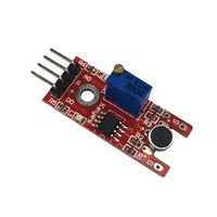 4pin Voice Sound Detection Sensor Module Microphone Transmitter for Arduino DIY Smart Robot Car