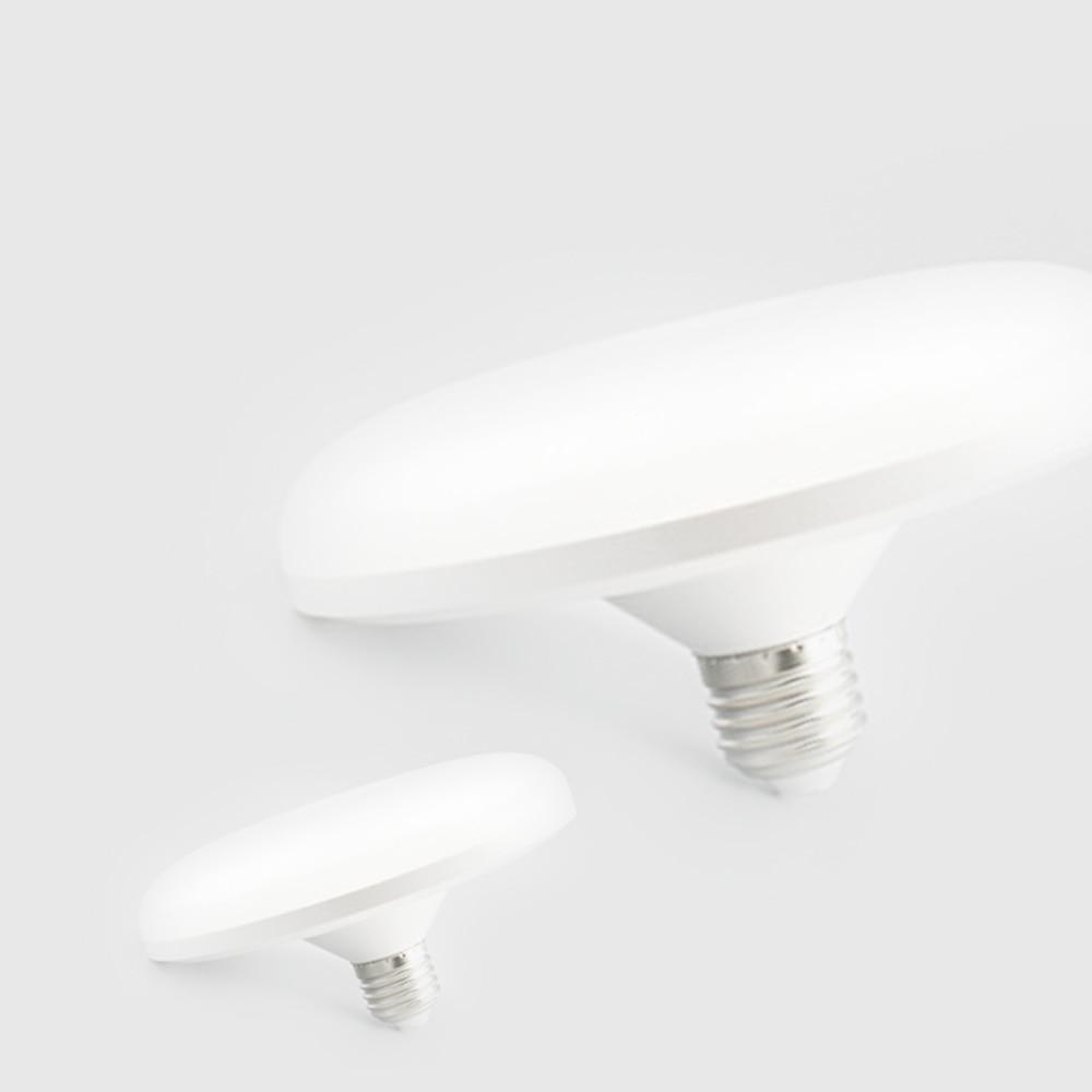E27 Energy Saving LED Lamp 15W 12W 24W SMD 2835 Flat High Power LED Light Bulb 220V E27 20W UFO LED Light For Home Lighting