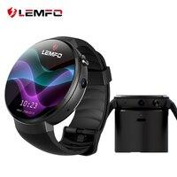 LEMFO LEM7 4 г Смарт часы Android 7,0 с сим 2MP Камера gps WI FI MTK6737 1 ГБ + 16 ГБ smartwatch телефон Для мужчин Носимых устройств