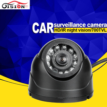 Gision Mini Plastic Dom Camera For Car ,CCD Sony Dvr Camera ,Night Vision IR Bus Car Camera Backup Free Shipping