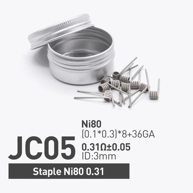 Staple Ni80 0.31
