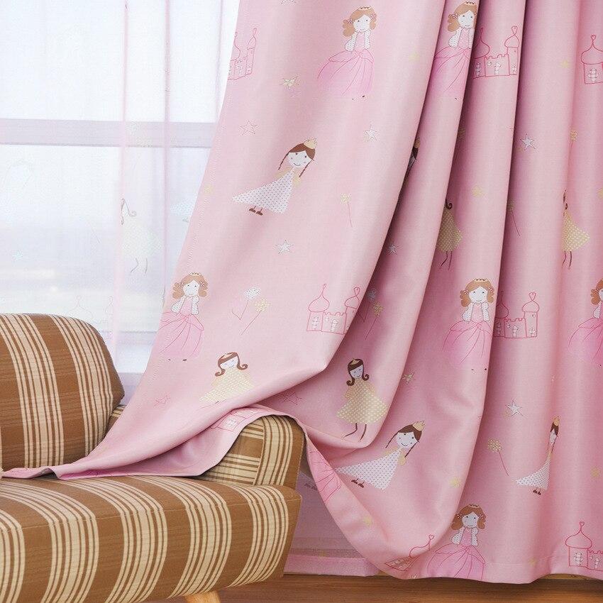 lindo de la historieta de encargo de sombreado de tela cortinas para ventanas de la sala