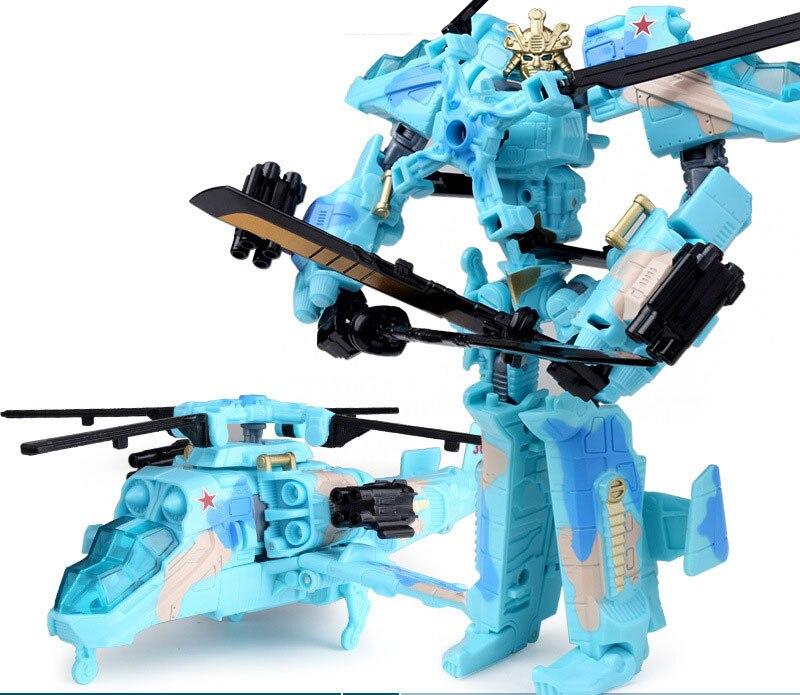 """Лидер продаж 19,5 см модель Трансформация Робот автомобиль экшн игрушки пластиковые игрушки Фигурки игрушки лучший подарок для образования детей 7,5"""" - Цвет: NO.12"""