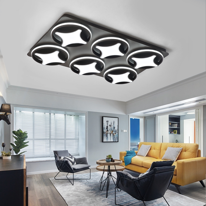 VEIHAO Surface Mounted Modern Led Ceiling Lights For Living Room luminaria led Bedroom Fixtures Indoor Home Dec Ceiling Lamp цена