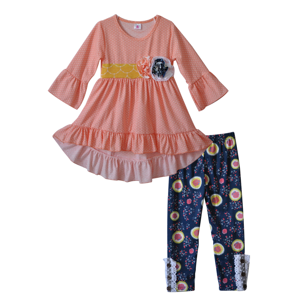 Fall Mustard Pie Charming Boutique Toddler Girls Outfits