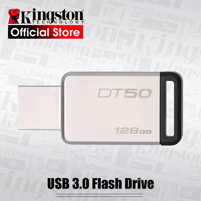 USB-флеш-накопитель Kingston, 32-128 ГБ, USB 3,1