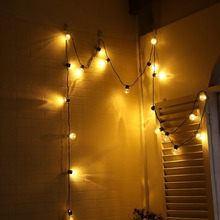 цены ICOCO 6M 20 LED BZ532 Globe Festoon Party Ball string lamps Lights led string lights bulb Christmas fairy wedding garden garland