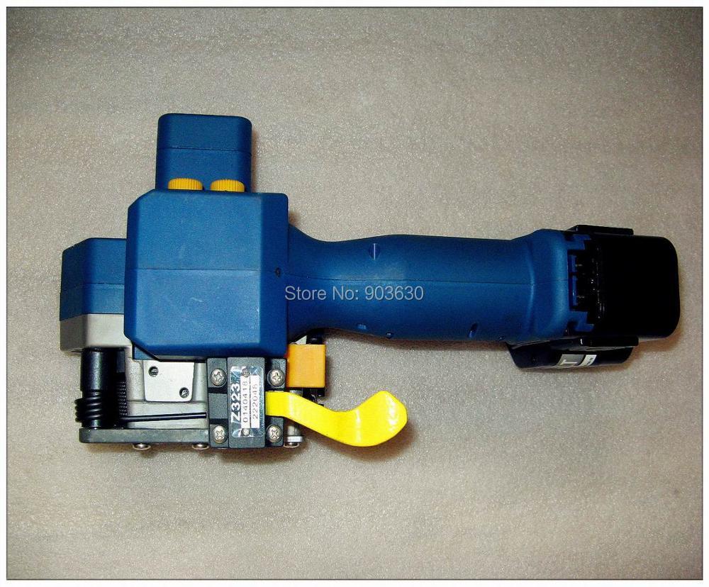 Z323 su baterijomis maitinamas PET / plastikinis suvirinimo surišimo - Įrankių komplektai - Nuotrauka 5