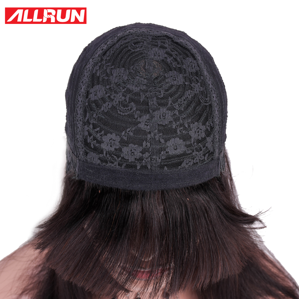 ALLRUN Μαλαισία Σγουρό βαρίδι Περούκες - Ανθρώπινα μαλλιά (για μαύρο) - Φωτογραφία 4
