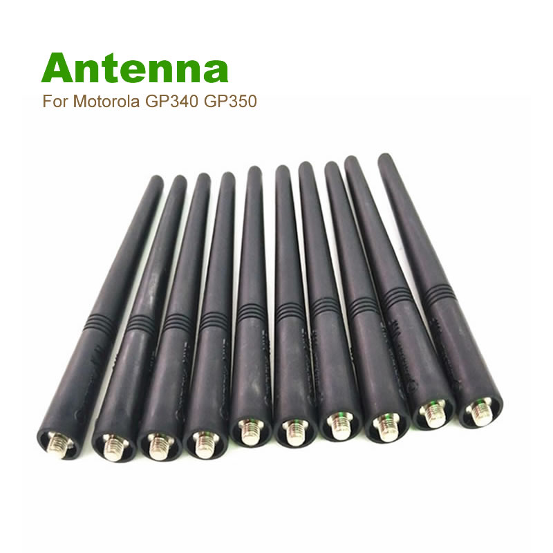 """bilder für 10X VHF 5,5 """"Antenne Für Motorola Zweiwegradio GP340 GP350 GP360 GP380 GP640 GP680 HT1250 HT750 HT1550"""