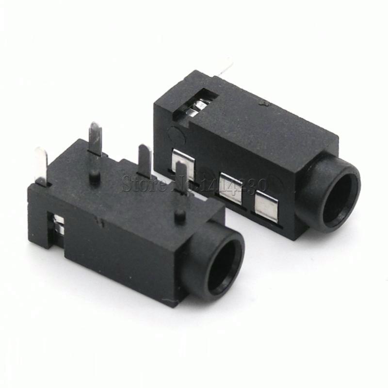 20PCS DIP PJ320A 3.5MM Headphone Audio Socket PJ-320A PJ320 PJ-320 4 Pins Audio Interface