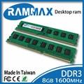 Brand new sealed Настольных DDR3 Ram1x8GB LO-DIMM1600Mhz PC3-12800 Памяти высокая совместимость материнская плата для ПК Компьютер + Бесплатная Доставка