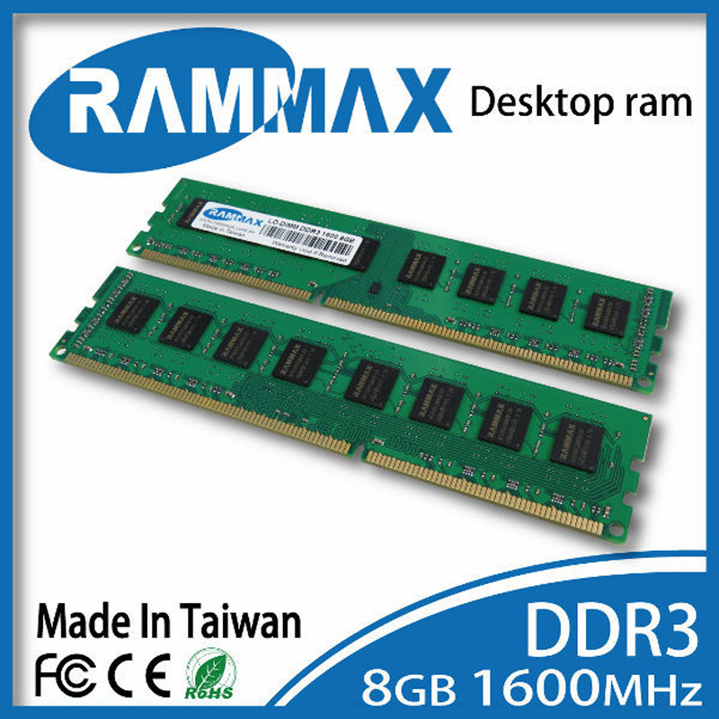 Brand new sealed Desktop DDR3 Ram1x8GB LO-DIMM1600Mhz PC3-12800 Memory high compatible motherboard for PC Computer+Free Shipping brand new ddr2 2gb 800mhz pc 6400 2 gb 2g memory ram memoria for desktop pc free shipping