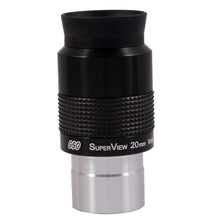 "GSO 1.25"" Superview 20mm Wide Field 68 degree eyepieceeyepiece 1.25eyepiece 20mmgso eyepiece"