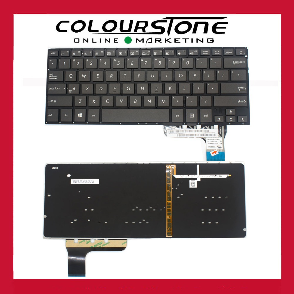 Original new backlit keyboard For Asus Zenbook UX303 UX303LB UX303LA UX303LN UX303UA laptop keyboard arabic french italy slovakia keyboard for asus g750 g750jx g750jw g750jh g750jm laptop keyboard backlit palmrest upper