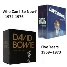 David Bowie Cinq Years1969-1973 + Qui Puis-je Être Maintenant (1974 À 1976) Total 24 CD Chinois Usine New Sealed Version