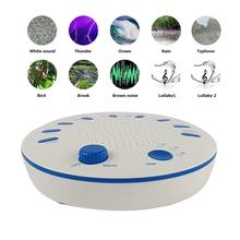 Baby's High Sound Quality Timing Music Sleep Aid Device White Noise Machine Sound Machine Music Player with Night Light Preset 5