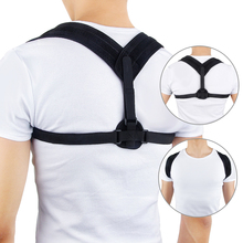 Back Posture Corrector Clavicle Brace Support Belt Adjustabl