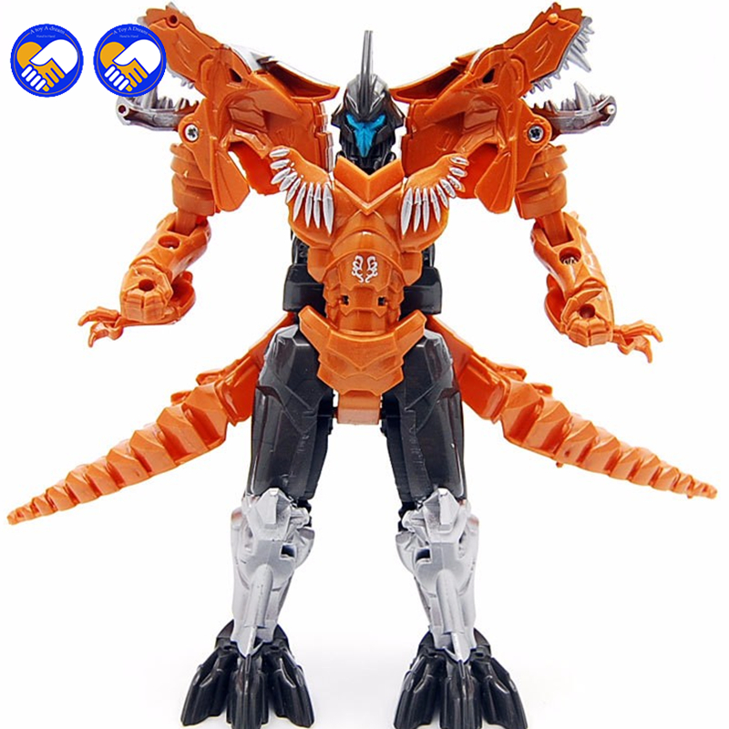 A toy A dream 5pcs/lot hot sale Dinosaur Transformation Toys Plastic Robot Action Figure dinosaur Toy Model Gifts For children hot sale transformation devastator metal part kbb mp10 v optimus prime figure classic toys robot cars for kids christmas gifts