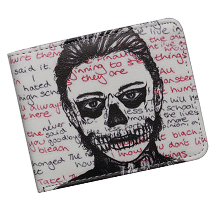 TV Movie Wallet American Horror Story Wallets With Card Holder Dollar Price mens wallet women coin purses holders purse american tv series mr robot 3d woman man wallets purse the the punisher skull purses cluth creadit card holder
