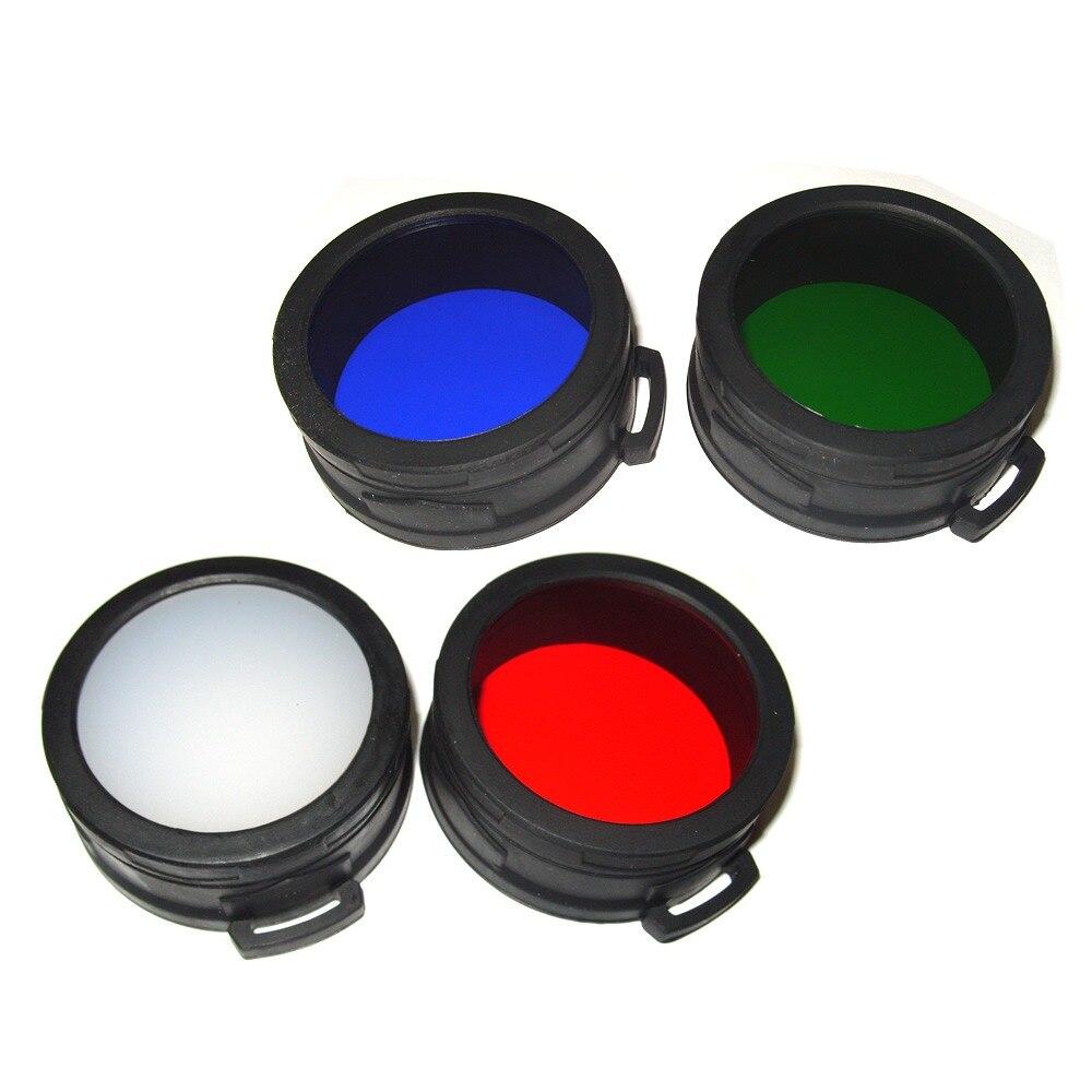NITECORE RGB Torch Filter Diffused Mineral Coated Glass Lens Flashlight Head 60mm Lighting Accessories NFR60/NFG60/NFB60/NFD60