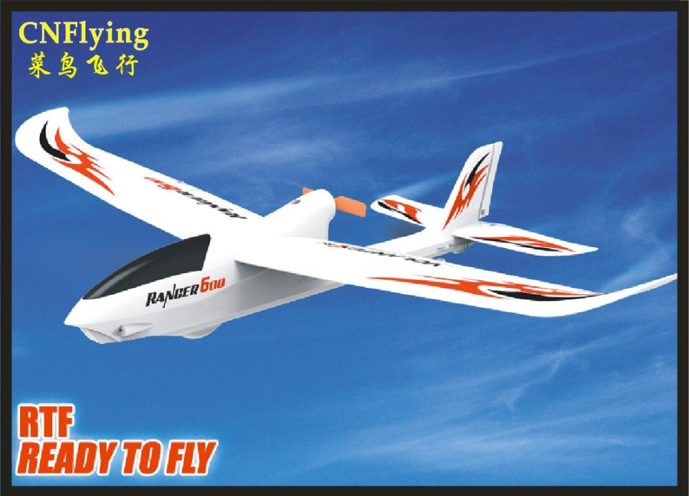 Vente chaude parc FLYER nouveau MINI RANGER600 2.4G 3CH 6 axes gyroscope facile vol formateur EPO RC avion RTF SET tw761-2