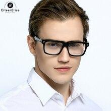 EE Mais Novo Estilo Clássico Quadrado Rebite Óculos de Armação Das Mulheres Dos Homens Óculos de Computador Óculos de Armação de óculos Óptica Óculos