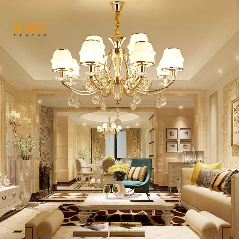 crystal chandelier Luxury Modern Lamp chandelier Lighting  crystal