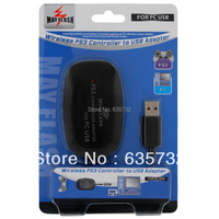 Mayflash para PlayStation para Dualshock 3 Wireless Controller Game Pad Adaptador para PC USB Preto