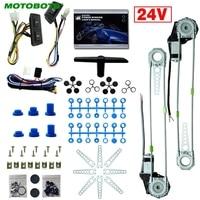 MOTOBOTS 1 Set DC24V Auto/Truck Voor 2-Deuren Electric Power Window Kits met 3 stks/set Schakelaars & harnas