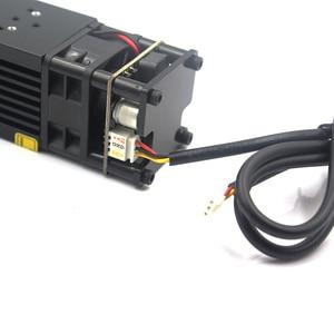 Image 2 - Oxlasers עוצמה 450nm 15W 15000mW כחול לייזר מודול DIY לייזר ראש עבור CNC לייזר חריטת מכונת לייזר חותך עם PWM